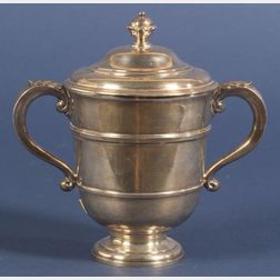 George V Britannia Standard Georgian-style Covered Loving Cup
