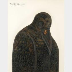 Bernard Langlais (American, 1923-1977)      Bird