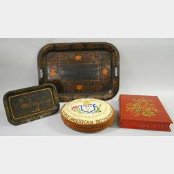 Four Historical Society for Early American Decoration Decorated Articles