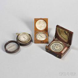 Three Pocket Navigational Instruments