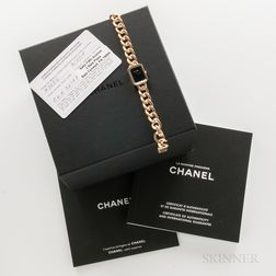 "Chanel 18kt Gold ""Premiere"" H3256 Wristwatch with Box and Certificate Card"