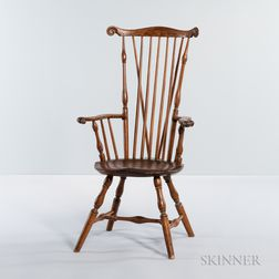 Windsor Braced Fan-back Armchair