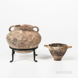 Two Ancient Pottery Vessels