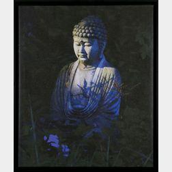 Simon Gregory (Massachusetts, b. 1941), Buddha After The Rain