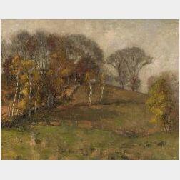 William Jurian Kaula (American, 1871-1953)  Up Crow Hill
