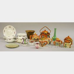 Twenty-two Assorted Pottery and Ceramic Items