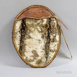 Suzanne Nash Birch Bark Hanging Basket