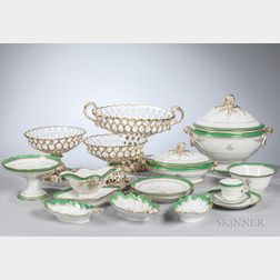 246-piece Limoges Porcelain Dinner Service