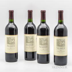 Seavey Cabernet Sauvignon 1996, 4 bottles