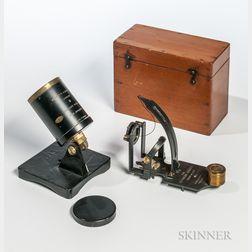Jordan's Sunshine Recorder and Reynold's Azimuth Reflector