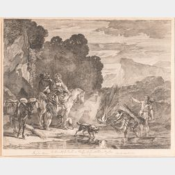 Approximately Seventeen Mostly Dutch and Flemish Prints and Drawings