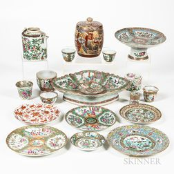 Group of Chinese Export Tableware