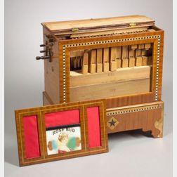 Portable 23-Key Barrel Organ