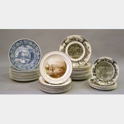 Forty-four Wedgwood Collector's Plates