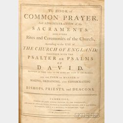 (Book of Common Prayer), Two Volumes