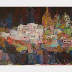 Edward Goldman (American, 1916-2006)      San Miguel de Alzende