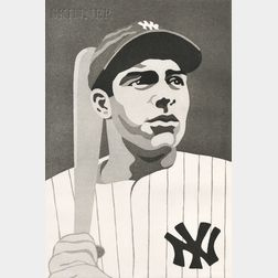 Mike Schacht (American, 1936-2001)      Joe DiMaggio