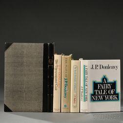 Donleavy, James Patrick (b. 1926) Five Signed Titles.