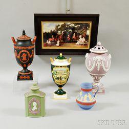 Six Assorted Modern Wedgwood Items