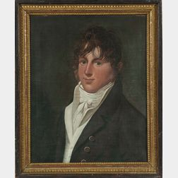 Attributed to Charles Delin (Holland, 1756-1818)      Portrait of a Gentleman