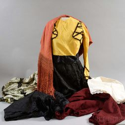 Group of 19th and 20th Century Clothing
