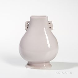 Off-white-glazed Vase