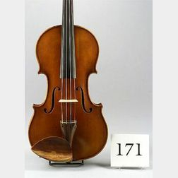 Modern Violin, Attributed to Carlo Bisiach