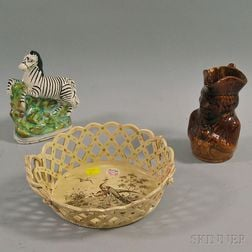 Three Pieces of English Pottery