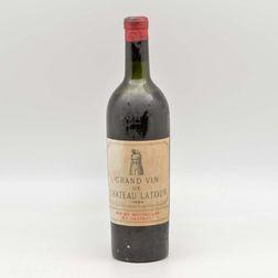 Chateau Latour 1934, 1 bottle