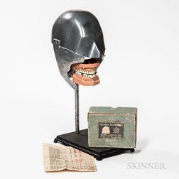 Cast Aluminum Dental Phantom