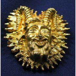 14kt Gold Pendant/Brooch