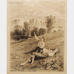 Albert Fitch Bellows (American, 1829-1883)      Lot of Twelve Landscape Views.