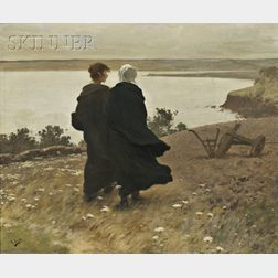 Henry Lerolle (French, 1848-1929)      The Long Walk