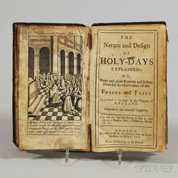 The Nature and Design of Holy Days