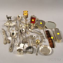 Large Group of Assorted Silver and Silver-plated Articles