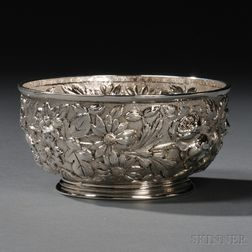 Jenkins & Jenkins Sterling Silver Repousse-decorated Bowl