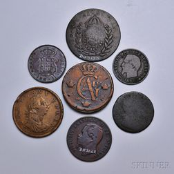 Nineteen World Coins