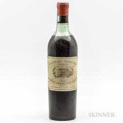Chateau Margaux 1943, 1 bottle