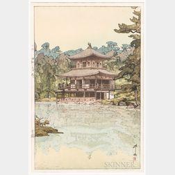 Hiroshi Yoshida (1876-1950), Kinkaku Pavilion