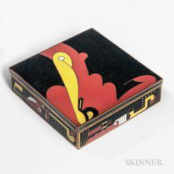 Art Deco Cloisonne Box