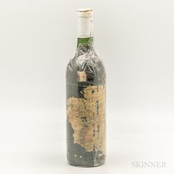 Caymus Special Selection Late Harvest Zinfandel 1976, 1 bottle