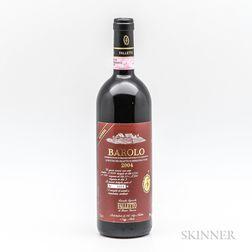 Bruno Giacosa Barolo Riserva La Rocche del Falletto 2004, 1 bottle