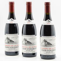 Chateau de la Tour Clos Vougeot 2009, 3 bottles