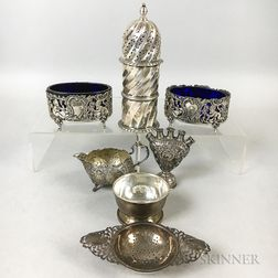 Group of English and Continental Sterling Silver Tableware