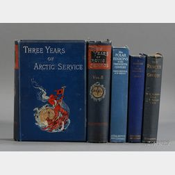 (Arctic Exploration), Four Titles in Five Volumes