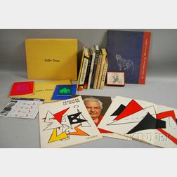 Alexander Calder (American, 1898-1976)      Collection of Books, Lithographs, Etc