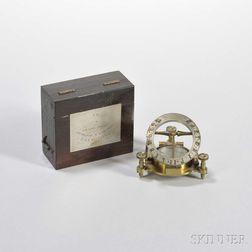 Elliott Brothers Equinoctial Pocket Sundial