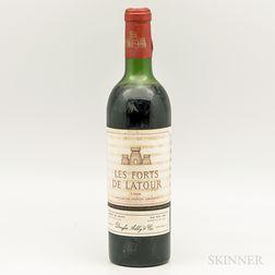 Les Forts de Latour 1966, 1 bottle