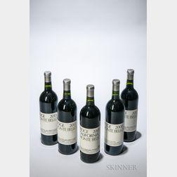 Ridge Monte Bello, 5 bottles