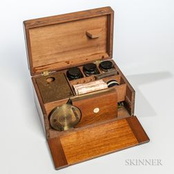 19th Century Stanley Portable Slide-making Kit